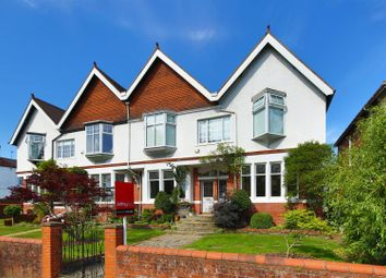 Thumbnail 5 bed semi-detached house for sale in Lake Road West, Cyncoed, Cardiff