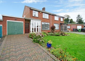 Thumbnail 3 bed semi-detached house for sale in Church Lane, Weddington, Nuneaton