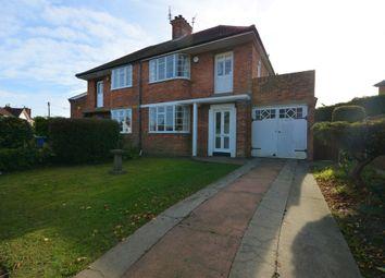 Thumbnail 3 bed semi-detached house for sale in Kirkley Park Road, Lowestoft