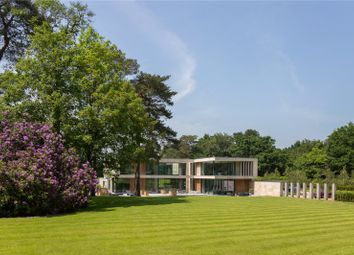 Thumbnail 6 bedroom detached house for sale in Beechwood Road, Wentworth, Virginia Water, Surrey
