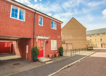 Thumbnail 3 bed semi-detached house for sale in Carus Crescent, Highwoods, Colchester