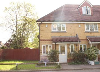 Thumbnail 2 bed end terrace house to rent in Bluebell Close, Northolt