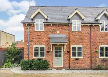 Thumbnail 2 bed semi-detached house for sale in Benedictine Square, Crowland, Peterborough