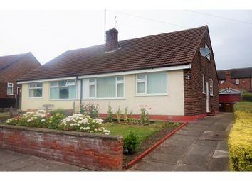 Thumbnail 3 bed semi-detached bungalow for sale in Lynbrook Road, Crewe