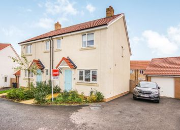 Thumbnail 3 bed semi-detached house for sale in Pennycress Close, Emersons Green, Bristol