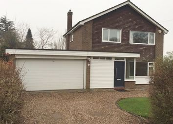 Thumbnail 3 bed detached house to rent in Ridgmont Road, Newcastle-Under-Lyme