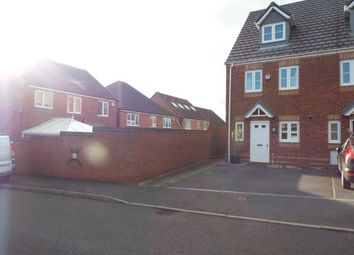 Thumbnail 3 bed end terrace house for sale in Strauss Drive, Cannock, Staffordshire