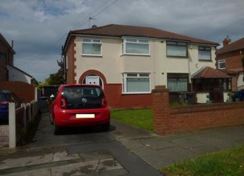 Thumbnail 3 bed semi-detached house for sale in Gainsborough Avenue, Maghull, Liverpool, Merseyside