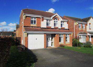Thumbnail 4 bed detached house for sale in Carlisle Way, Bracebridge Heath, Lincoln