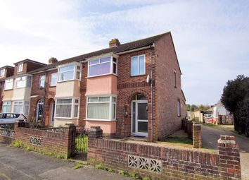 3 bed end terrace house for sale in Worthing Avenue, Gosport PO12
