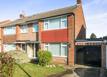 Thumbnail 3 bed semi-detached house for sale in Windermere Drive, Rainham, Gillingham