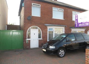 Thumbnail 3 bed property to rent in Baxter Avenue, Fenham, Newcastle Upon Tyne