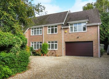 Thumbnail 5 bed detached house for sale in Milldown Road, Blandford Forum