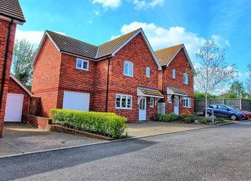 Thumbnail 4 bed detached house for sale in Woods Way, Buntingford