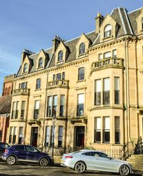 Thumbnail 3 bedroom flat for sale in Kingsborough Gardens, Glasgow