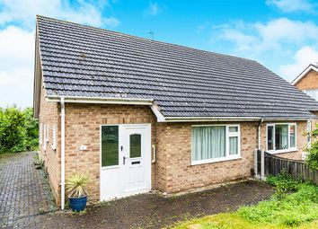 Thumbnail 3 bed semi-detached bungalow for sale in Kenwick Drive, Grantham