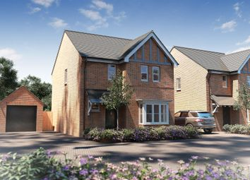 "Thumbnail 3 bed detached house for sale in ""The Whitfield"" at Heath Lane, Lowton, Warrington"