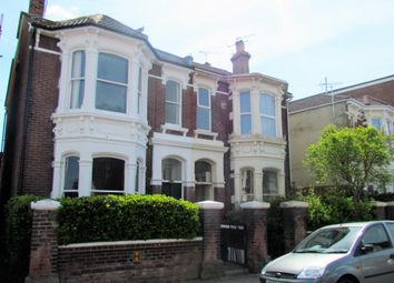 Thumbnail 1 bed flat to rent in Worthing Road, Southsea, Hampshire