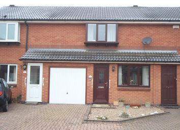 Thumbnail 2 bed town house for sale in Wood Street Close, Hinckley