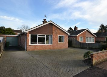 Thumbnail 2 bed detached bungalow for sale in Lawrence Close, Fakenham