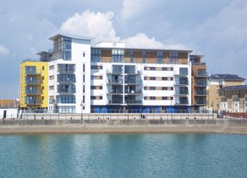 Thumbnail 2 bedroom flat to rent in Centauri Court, Midway Quay, Sovereign Harbour North