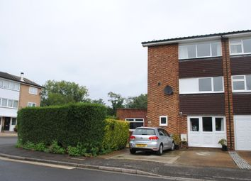Thumbnail 4 bed town house for sale in Garrick Gardens, West Molesey