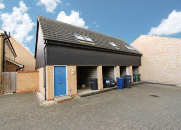 Thumbnail 2 bed flat for sale in Greenacre Close, Godmanchester, Huntingdon