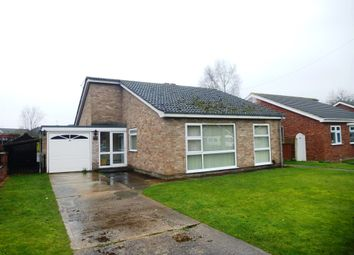 Thumbnail 4 bed detached bungalow for sale in Martin Close, Skellingthorpe, Lincoln