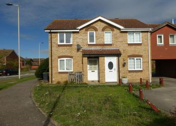 Thumbnail 2 bed semi-detached house to rent in Harrold Priory, Bedford