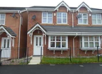 Thumbnail 3 bed semi-detached house to rent in Stephen Oake Close, Manchester