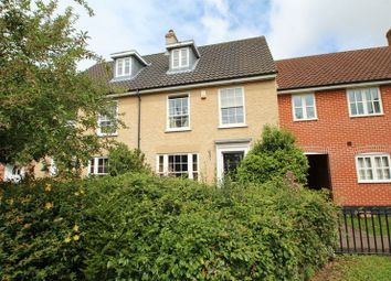 Thumbnail 3 bedroom town house for sale in Bromedale Avenue, Mulbarton, Norwich