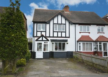 Thumbnail 3 bed semi-detached house for sale in Hazeloak Road, Shirley, Solihull