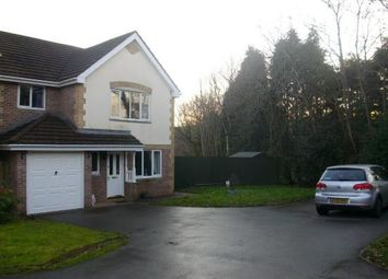 Thumbnail 4 bedroom detached house to rent in Willow Close, Beddau, Pontypridd