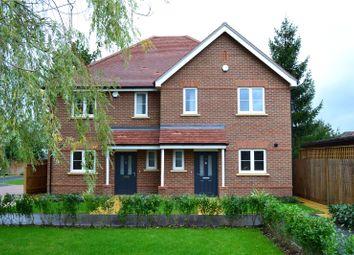 Thumbnail 3 bed semi-detached house for sale in Grange Road, Ash, Aldershot, Surrey