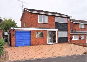 Thumbnail 4 bed detached house for sale in Allesborough Drive, Pershore