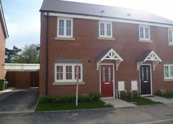 Thumbnail 3 bed semi-detached house to rent in Heatherley Grove, Wigston, Leicestershire