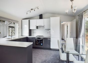 Thumbnail 2 bed mobile/park home for sale in Holloway Hill, Lyne, Chertsey, Surrey