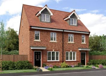 "Thumbnail 3 bed town house for sale in ""The Tolkien"" at Sadberge Road, Middleton St. George, Darlington"