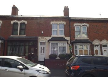 Thumbnail 3 bed terraced house for sale in Highfield Road, Alum Rock, Birmingham, West Midlands
