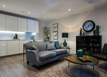 Thumbnail 3 bed flat for sale in Burdett Road, London