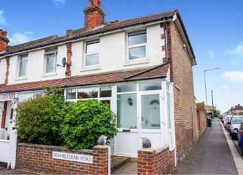 Thumbnail 2 bed end terrace house for sale in Brambledean Road, Brighton
