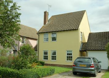 Thumbnail 3 bedroom link-detached house to rent in Ann Beaumont Way, Hadleigh, Ipswich