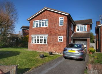 Thumbnail 4 bed detached house for sale in Wentwood View, Caldicot
