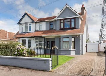 Thumbnail 3 bedroom semi-detached house for sale in Duchray Drive, Paisley, Renfrewshire
