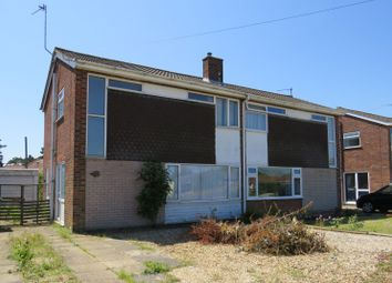 Thumbnail 3 bed semi-detached house for sale in Coppice Avenue, Hellesdon, Norwich, Norfolk