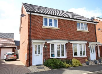 Thumbnail 2 bed semi-detached house for sale in Valley View Drive, Great Blakenham