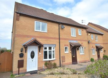 Thumbnail 2 bed property to rent in Pine Close, Loughborough