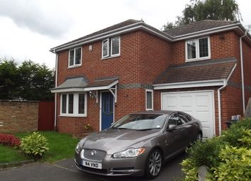 Thumbnail 4 bed detached house to rent in Halleys Walk, Addlestone