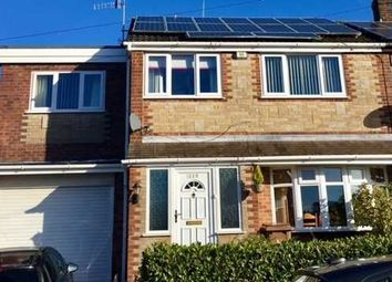 Thumbnail 5 bed semi-detached house for sale in Westonfields Drive, Weston Coyney, Stoke-On-Trent