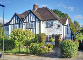 Thumbnail 4 bed semi-detached house for sale in Manor Way, Petts Wood, Kent